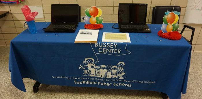 Head Start Info Table