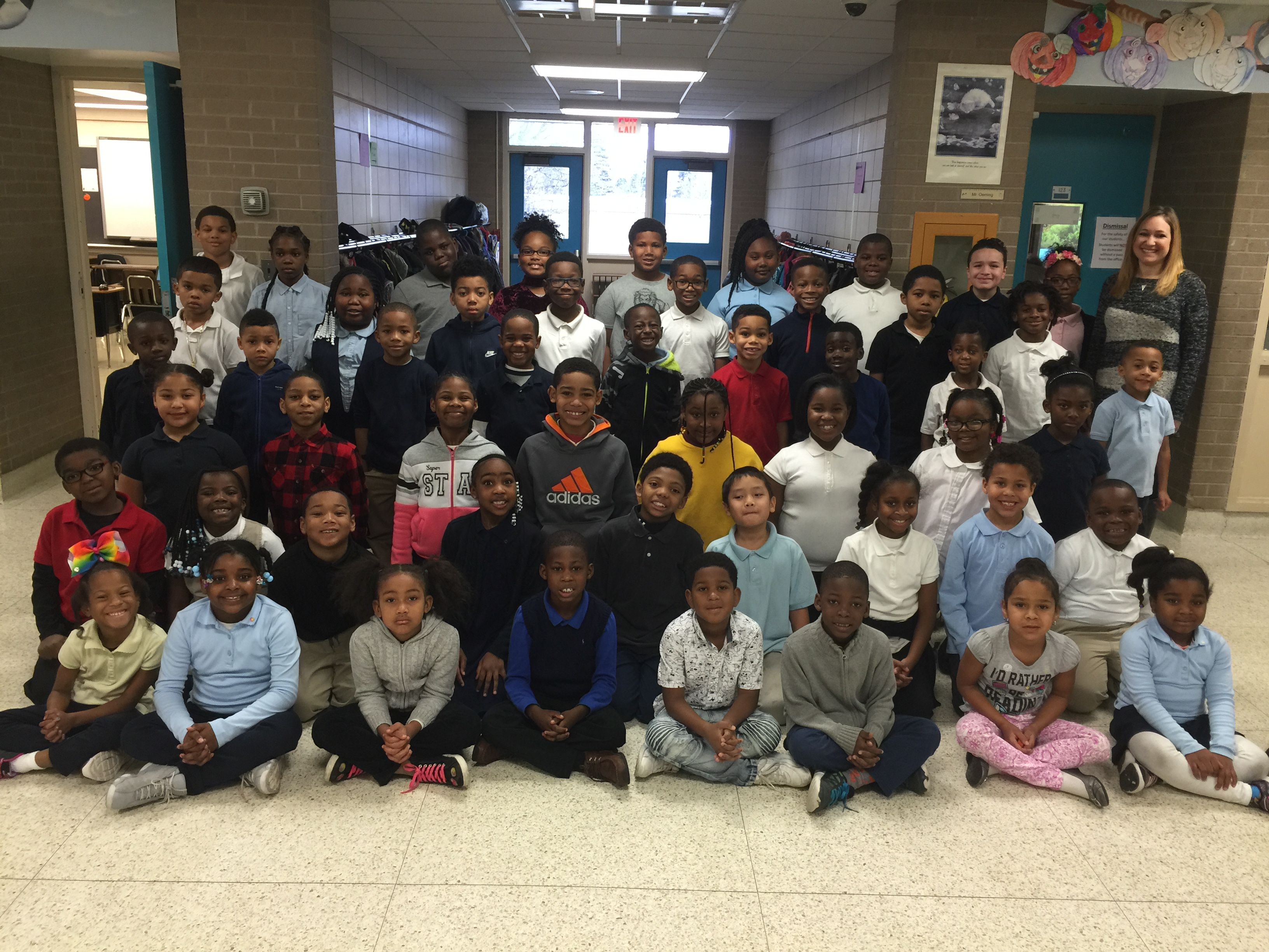 Mrs. RIchmond and Mrs. Brown's Class
